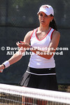 06 April 2010:  Davidson visits Elon in men's and women's tennis at the  Powell Tennis Center in Elon, North Carolina.