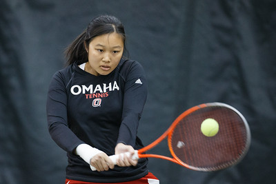 Michelle Lo  Women's Tennis  April 03, 2015