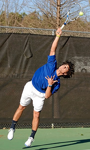 Tennis player Gokalp Ozdemir of Walton High School.