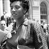 Althea Gibson, first African American woman to win a Grand Slam title