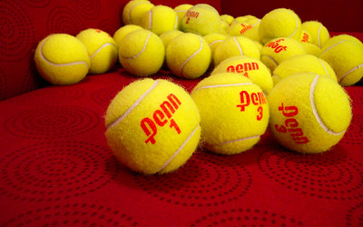 Drying Tennis Balls