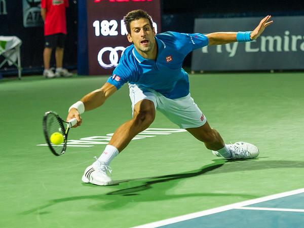 Tennis.  Dubai Tennis Championships, Dubai, UAE. 25 Feb 2015