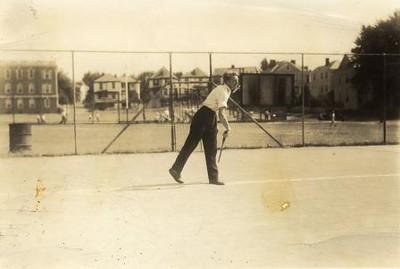 Tennis on Ruffner Playground (01271)