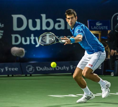 Tennis.  Dubai Tennis Championships, Dubai, UAE. 27 Feb 2015