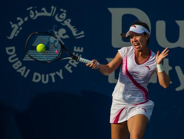 Tennis.  Dubai Tennis Championships, Dubai, UAE. 20 Feb 2013