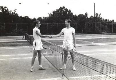 Men After a Tennis Match (01234)