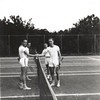 Men on Tennis Court (01231)