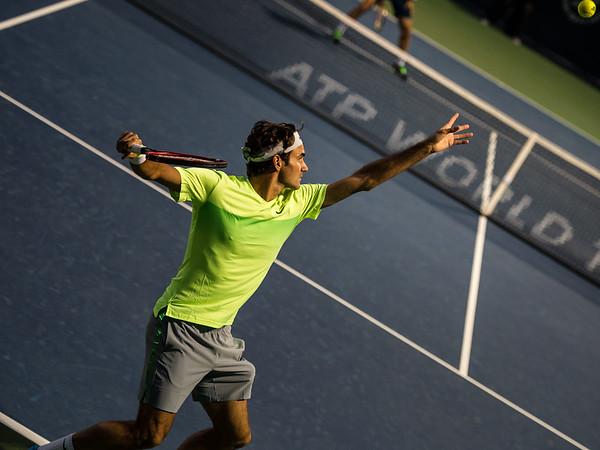 Tennis.  Dubai Tennis Championships, Dubai, UAE. 24 Feb 2015