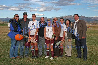 Teton Soccer Senior Day Guys & Gals
