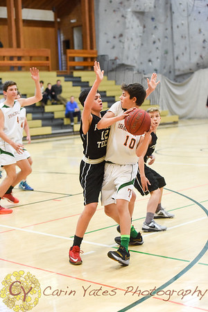 1-26-18 Boys Thirds, JV and Varsity Basketball