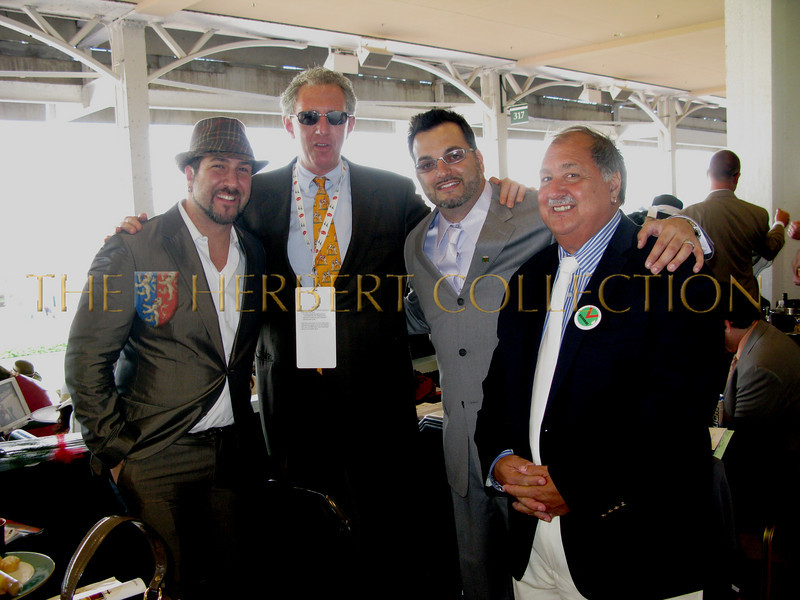 Joey Fatone, Barry Klarberg and friends