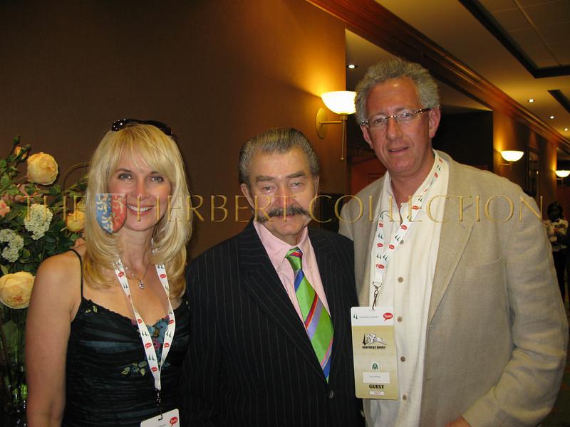 Sara Herbert-Galloway, LeRoy Neiman, Barry Klarberg