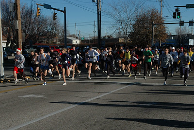 The 16th Annual Old National Thanksgiving Day 5K Run/Walk, November 24, 2005