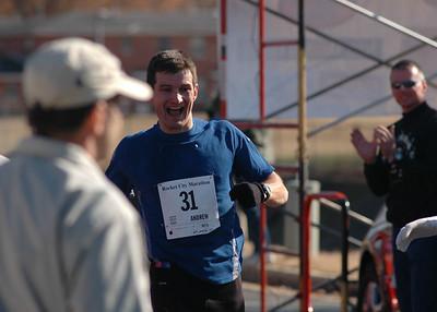 The 2005 Rocket City Marathon, Huntsville, AL , December 10, 2005