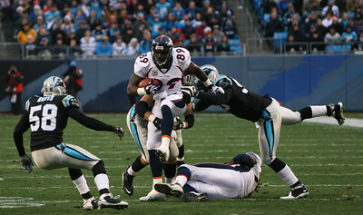 The Denver Broncos vs. the Carolina Panthers, December 14, 2008