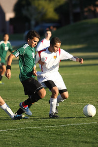 Sr. Ramon Rico fights for possession