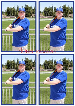 2014 ML Dodgers 5x7 10