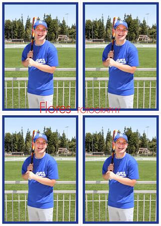 2014 ML Dodgers 5x7 11