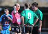 Referee Tyson Flynn was forced to call-out the Crookwell Captain in their 48-6 loss to Binalong on June 2.