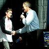 "Fairview High School's Shane O'Neill shakes hands with Bill Hanzlik during The Show on Monday, March 5, at the Pepsi Center in Denver. The Show is a press conference announcing the high school players that were selected for the 2012 Colorado State All Star game. For video interviews with the All Star players from Boulder County go to  <a href=""http://www.dailycamera.com"">http://www.dailycamera.com</a><br /> Jeremy Papasso/ Camera"