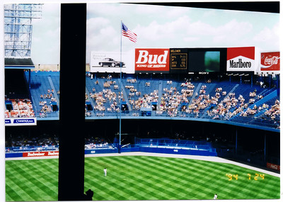 No where in the majors can you get obstructed views like this! Oh and the only flag pole in fair territory!