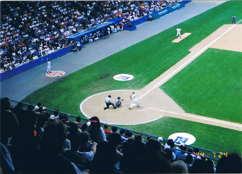 Home plate at Tiger Stadium, no where else could you get any closer to the game!
