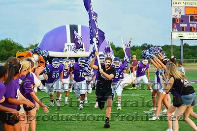 Mount Vernon Tigers vs Rains Wildcats 8-29-2014