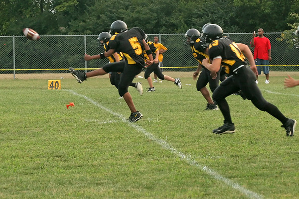 Tigers Football Eighth Grade