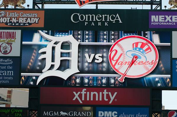 Tigers Yankees 8-28-2014