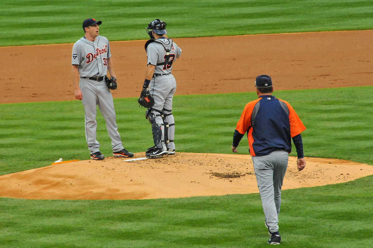 Tigers vs. Yankees, Game 2 of League Division Series, October 2011