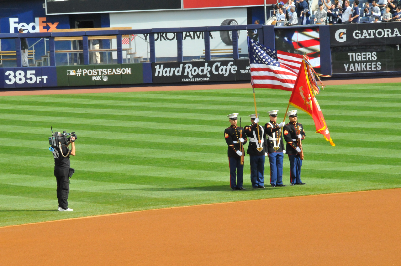 National Anthem, Tigers vs. Yankees, Game 2 of League Division Series, October 2011