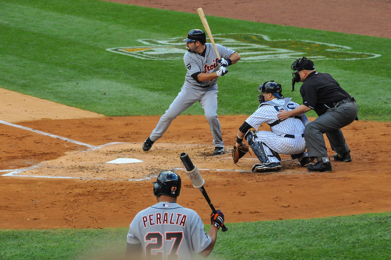 Alex Avila, Tigers vs. Yankees, Game 2 of League Division Series, October 2011