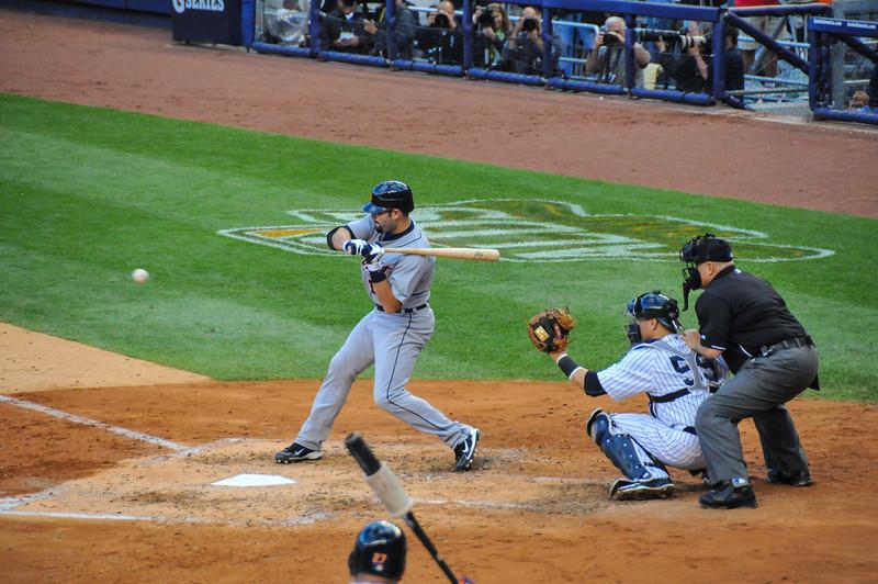 Alex Avila,Tigers vs. Yankees, Game 2 of League Division Series, October 2011