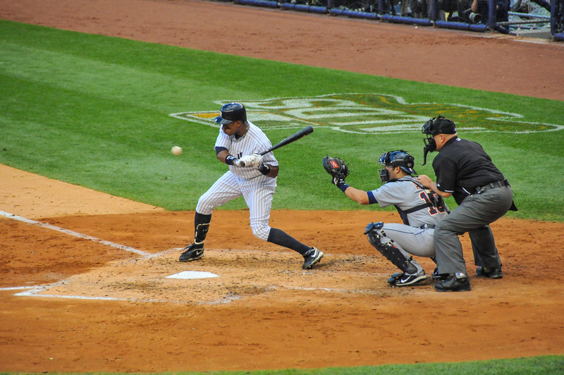 Curtis Granderson, Tigers vs. Yankees, Game 2 of League Division Series, October 2011
