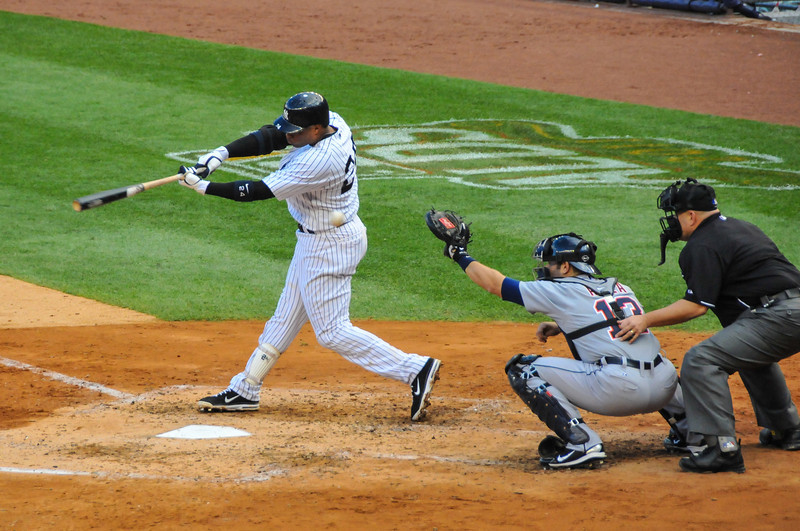 Robinson Cano, Tigers vs. Yankees, Game 2 of League Division Series, October 2011