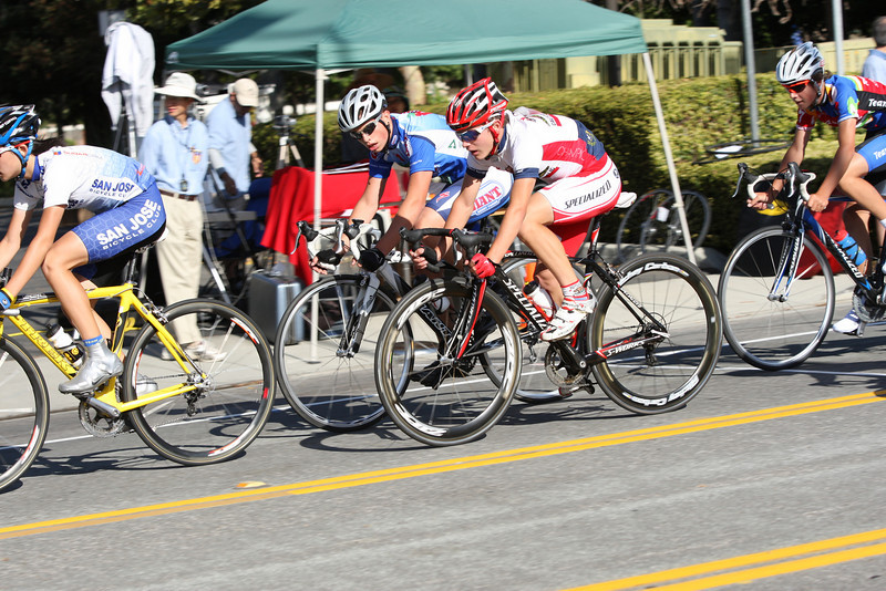 Johnny Mullane (Cal Giant) and James LaBerge (Specialized Jrs)