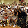 3-15-14<br /> Cass vs. Tipton Regional Championship<br /> Lewis Cass celebrates after winning the regional championship.<br /> KT photo | Kelly Lafferty