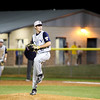 Tivy pitcher #2 Ty Desilets pitches from the windup.