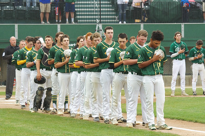 Taconic players before the start of the game Saturday.