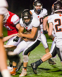 Andrew Ruef follows good blocking and slips into the endzone for a touchdown in the fourth quarter.