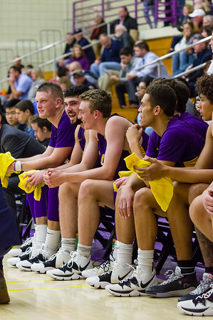 Ephs players celebrate late scores that sealed coach Kevin App's 100th win.