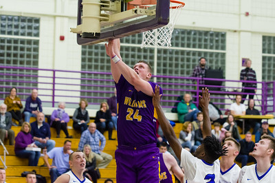 Matt Karpowicz makes a layup during a key run late in the first half saw the Ephs gain a lead they never relinquished.
