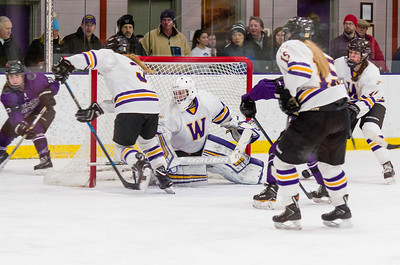 The Ephs defense was impenetrable in the third period Saturday against Amherst, and goaltender Chloe Heiting only allowed one goal to push Williams to the NESCAC championship game Sunday.