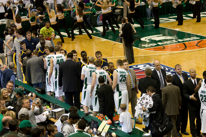 End of game, Michigan State wins.