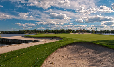 6th Hole at TRCC HDR  Aug 2011