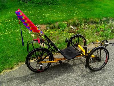 Tom's Trike, Ist ride, june 12, 2013  CIMG8801