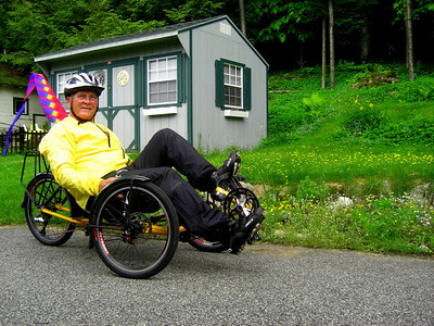 Tom's Trike, Ist ride, june 12, 2013  CIMG8798