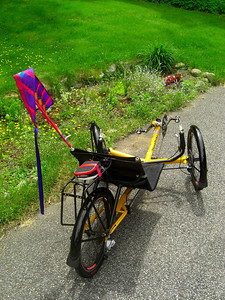Tom's Trike, Ist ride, june 12, 2013  CIMG8804