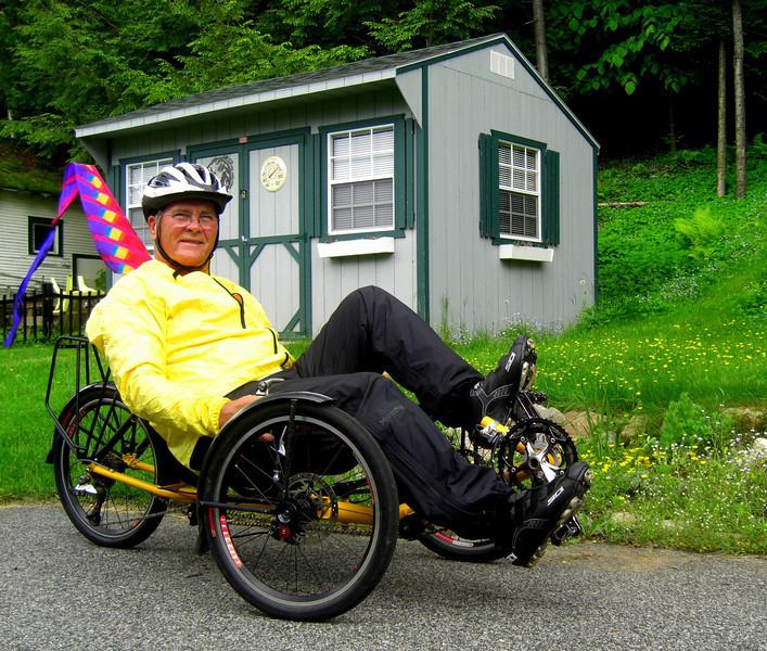 Tom's Trike, Ist ride, june 12, 2013  CIMG8798a
