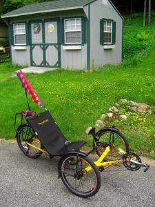 Tom's Trike, Ist ride, june 12, 2013  CIMG8800